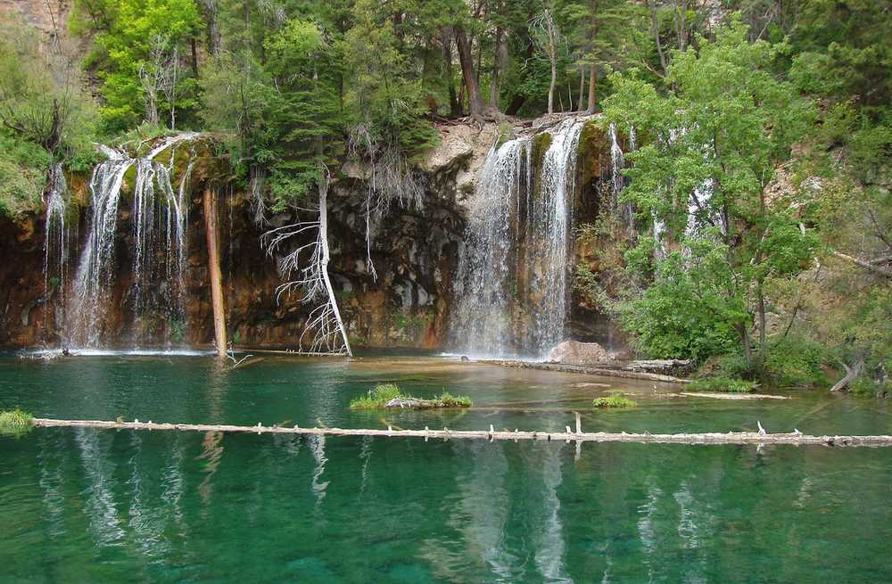 Glenwood Springs - Hanging lake falls